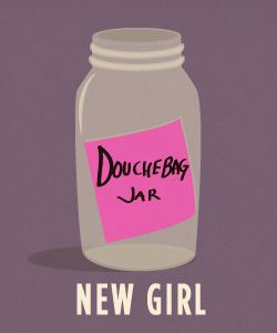 minimalist poster- New Girl | Tumblr
