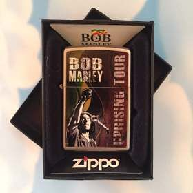 **Bob Marley** Crazy Zippo/Zippo style lighter. More fantastic smoking accessories & 420 ganja weed herb kaya hemp culture stuff for joints & spliffs, pictures, music and videos of *Robert Nesta Marley* on: