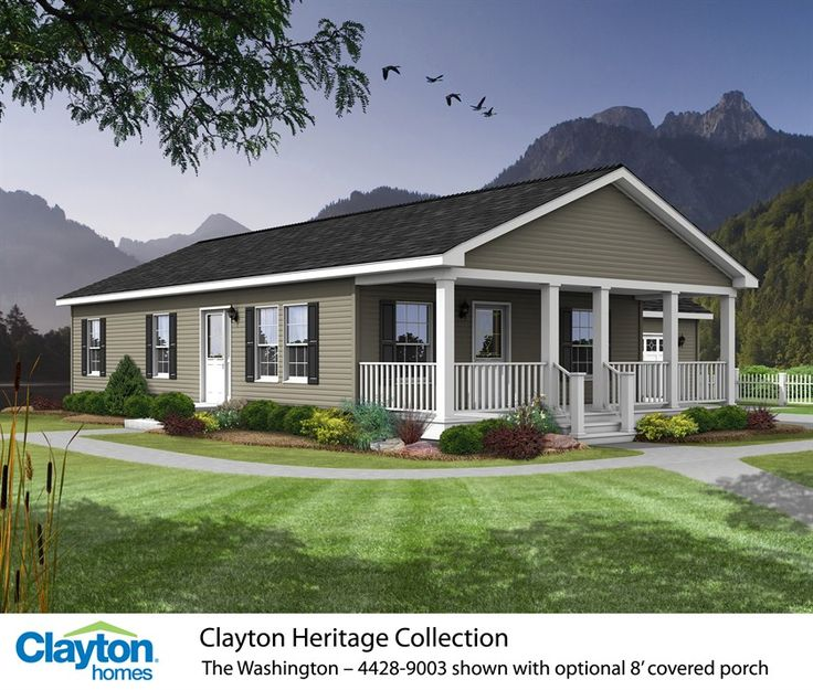 Best 25  Clayton mobile homes ideas on Pinterest Photos The Washington   4428 9003   81HNH28443AH   Clayton Homes of Marion. Designer Mobile Homes. Home Design Ideas