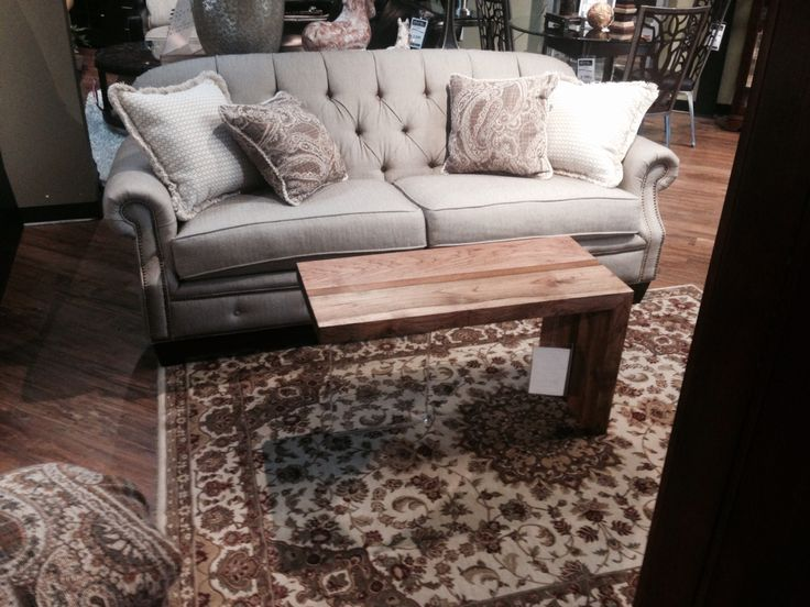 A Coffee Table On Display At Slone Brothers Furniture In Longwood Florida