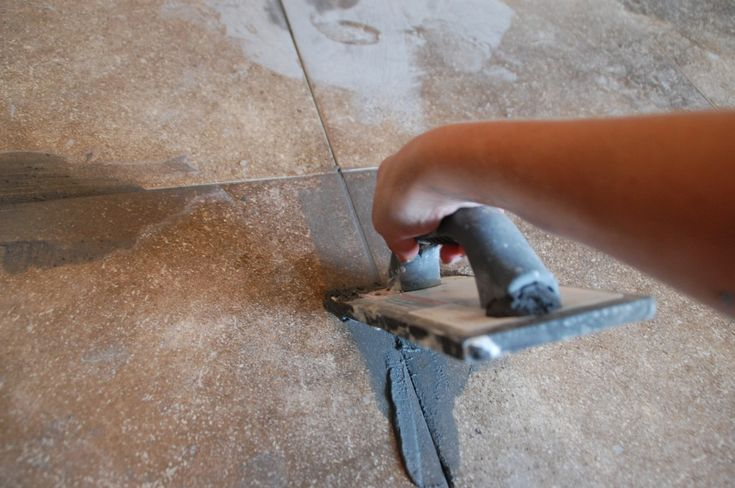 how to clean grout off your tile