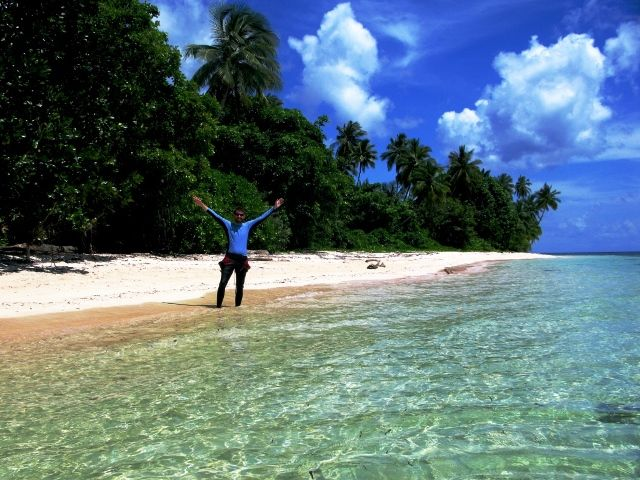 Between the dives, Wakatobi, South Sulawesi, Indonesia