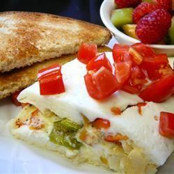 Easy Egg White Omelet | The fastest omelet around!