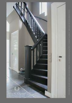 Meer dan 1000 idee n over trappen schilderen op pinterest trappen trapleuningen en trap muur - Schilderen muur trap ...