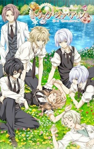 Trick or Alice an reverse harem anime. Upcoming this 2016
