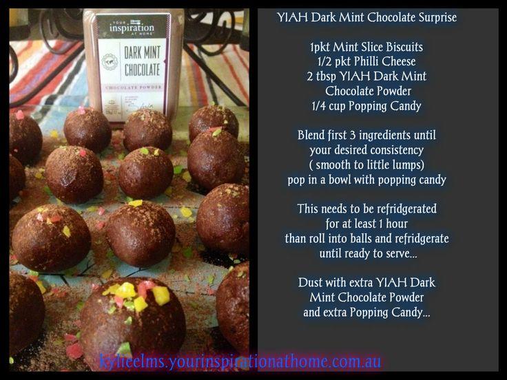 YIAH Dark Mint Chocolate Surprises
