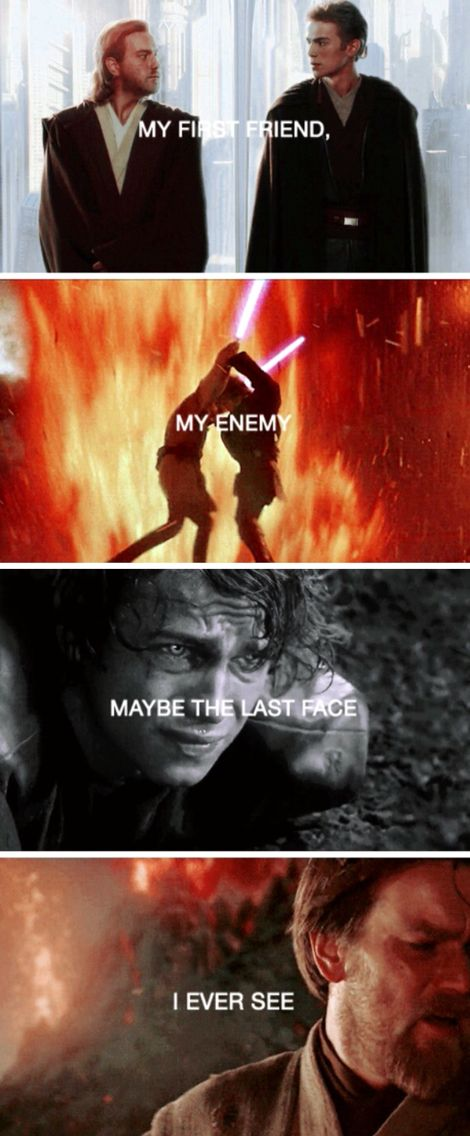 I honestly don't blame Anakin/Vader for ANYTHING that he did... He has been through so much.. Feeling every single emotion there probably is..