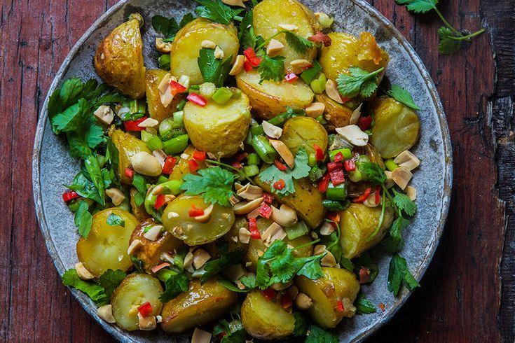 Thai inspirerte poteter – Aichas Mat