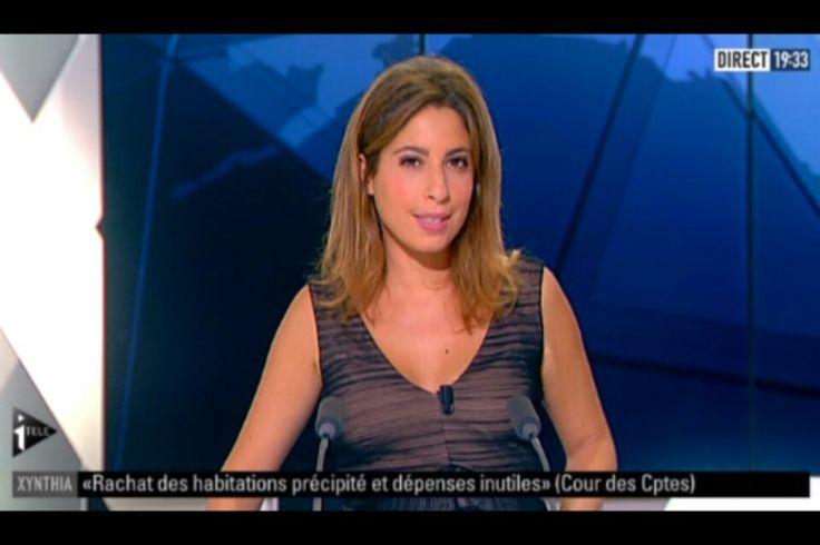 Léa Salamé journaliste... http://vuesalateleleblog.blogspot.fr/2012/10/2012-07-05-lea-salame-itele-le-17-20.html