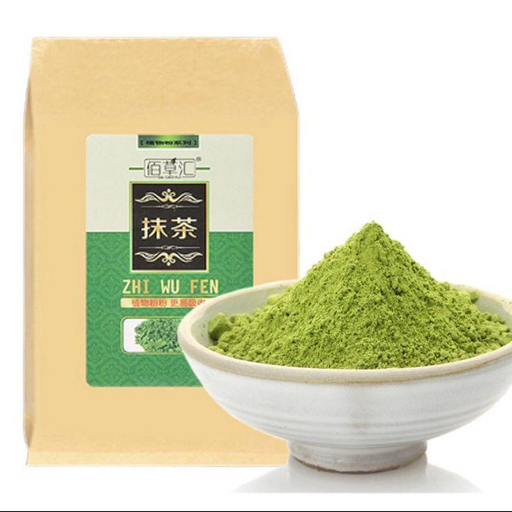 Premium japanese matcha green tea powder100% natural organic slimming tea for reducing weight loss +Free shipping