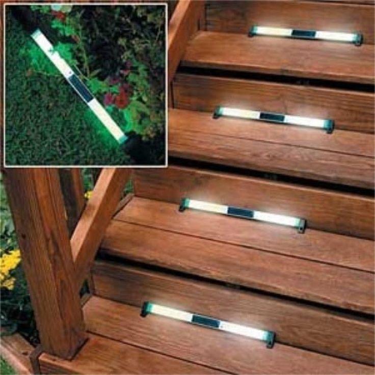 Solar Lights For Steps On Deck