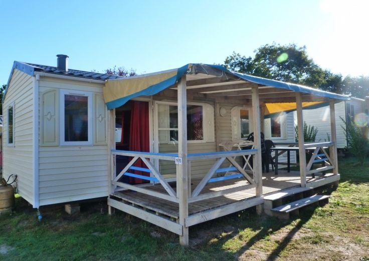 Mobil-Home GRAND FAMILY ESPACE - 6/8 personnes - Camping Domaine de Bréhadour
