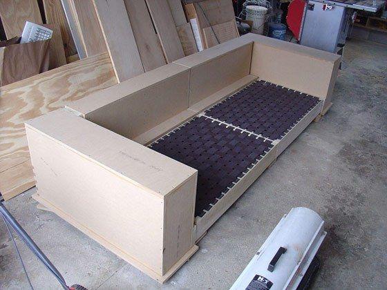 diy modern sofa plans