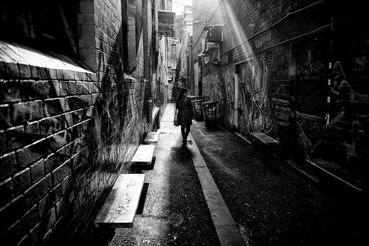 The Sun Takes A Peek Down Croft Alley by John Raptis on 500px