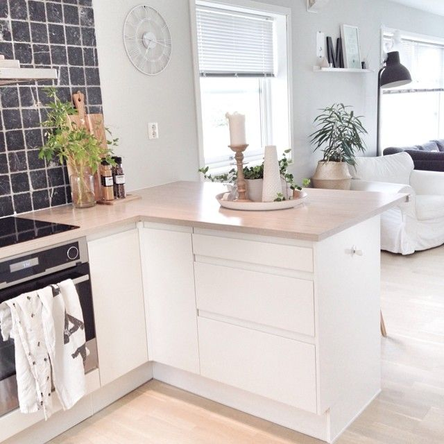 Schmale Küche Tresen