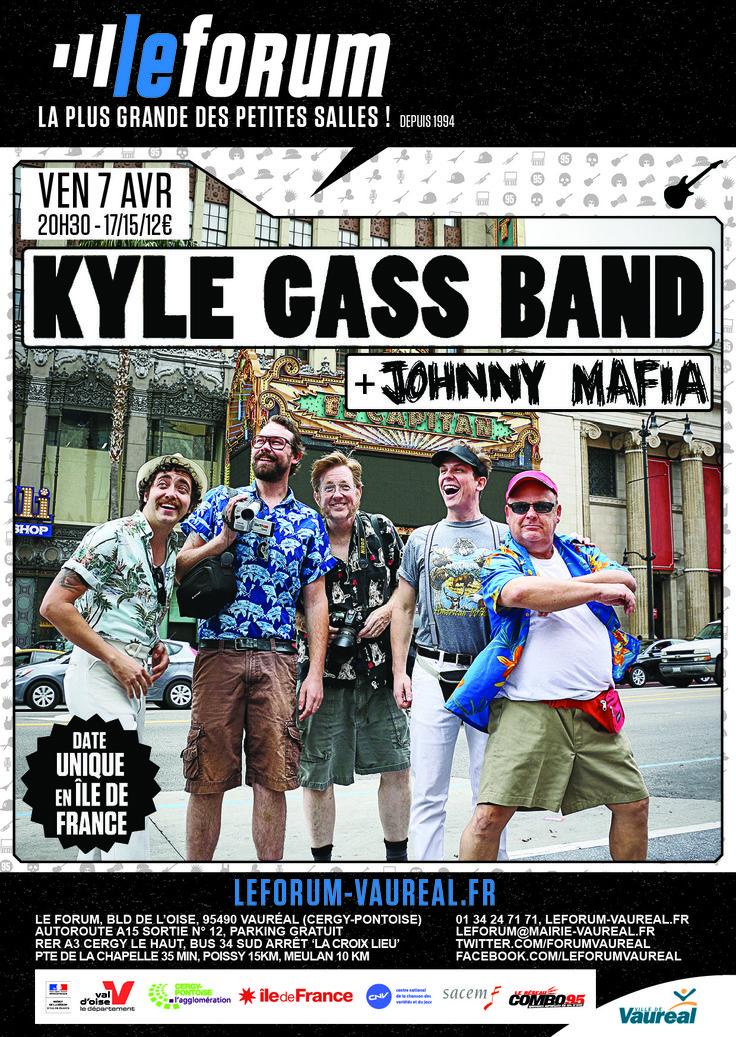 THE KYLE GASS BAND en concert ce soir au forum de Vauréal