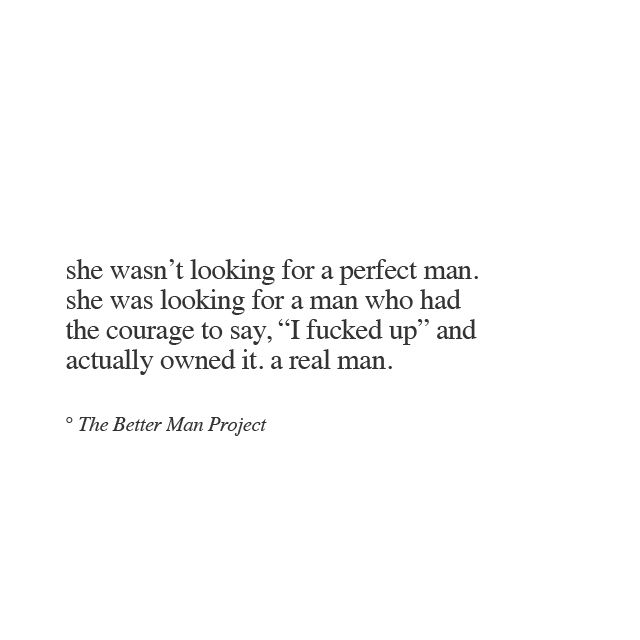she was looking for a real man!!!!