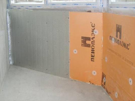 Как правильно сделать утепление балкона и лоджии пеноплексом