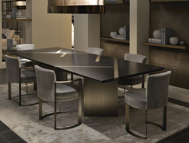 Fendi Casa Ff Casa Margutta Dining Table And Ripetta