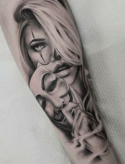 Trendy Tattoo Frauen Unterarm Gesicht Ideas – #tattoofrauenunterarm