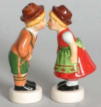 German-style wedding cake topper.