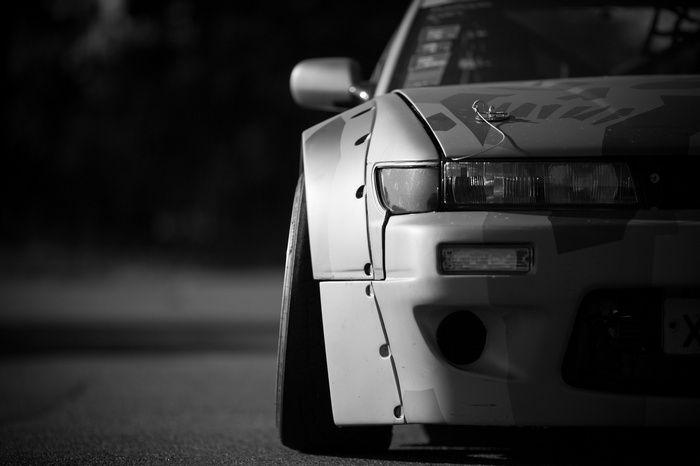Monochrome S13 Drift Nissan Fail Crew Car Wallpaper Drift Cars Cool Desktop Wallpapers Dream Cars