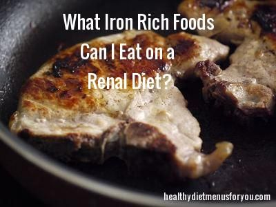 This is because your kidneys are unable to process and filter out certain vitamins, minerals, and waste, nor can they carry out the many functions they are responsible for in the body. So are you looking to find out what iron rich foods that you can eat with chronic kidney disease.