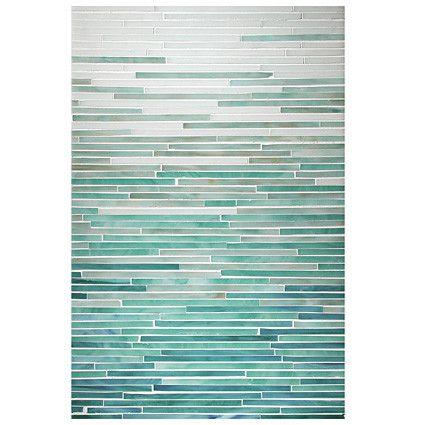 Complete Tile Collection Katami Glass Mosaic Tile, Mist Blend - Opal, Aqua, Turquoise & Peacock Topaz, MI#: 241, Color: Opal, Aqua, Turquoise, Peacock Topaz