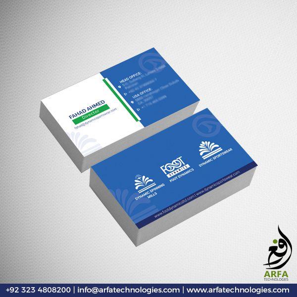 Dynamic Business Card Design Business Card Design Cool Business Cards Business Card Design Creative