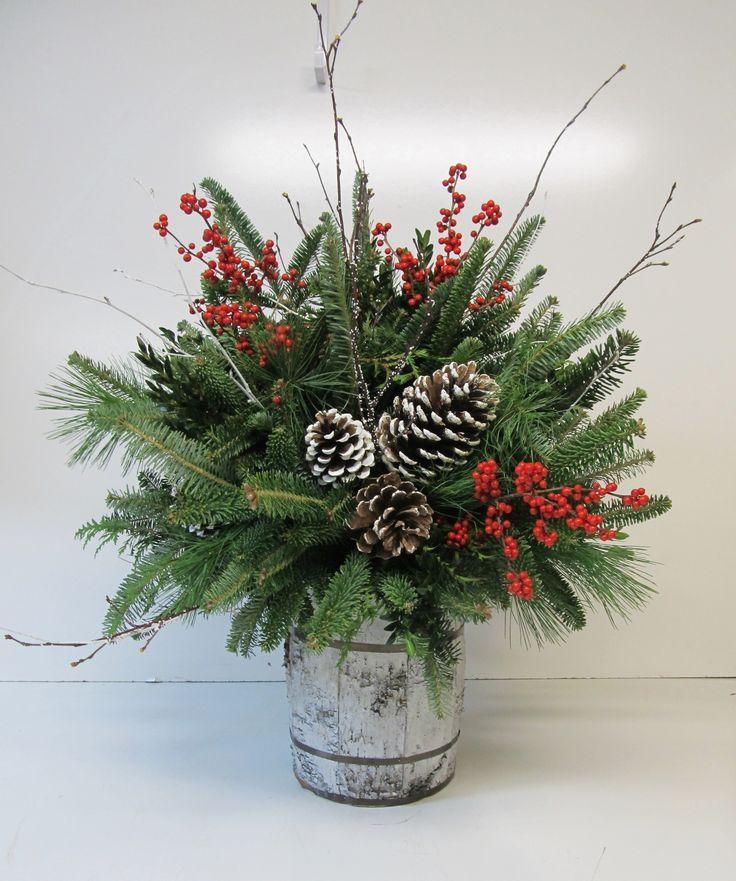 """NEW! - """"White Christmas"""" Full Barrel Arrangement"""