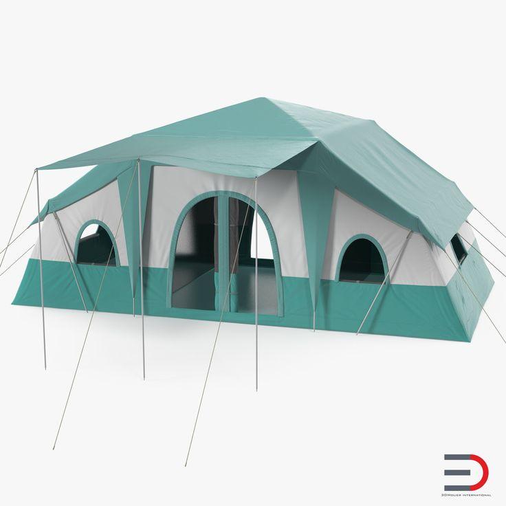 Deluxe Cabin Tent 3d model