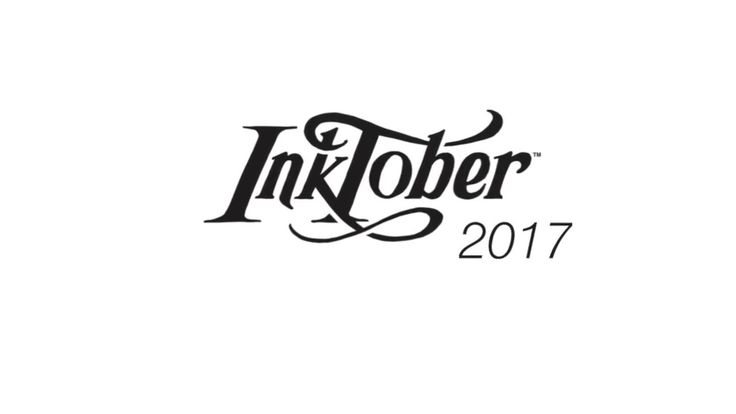 Inktober 2016 Wrap up and 2017 announcement