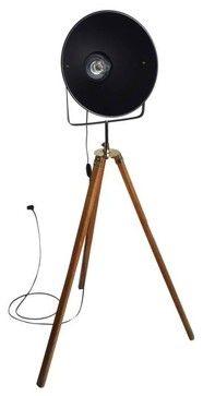 Vintage Style 1920u0027s Film Studio Tripod Light - modern - floor lamps - new  york -