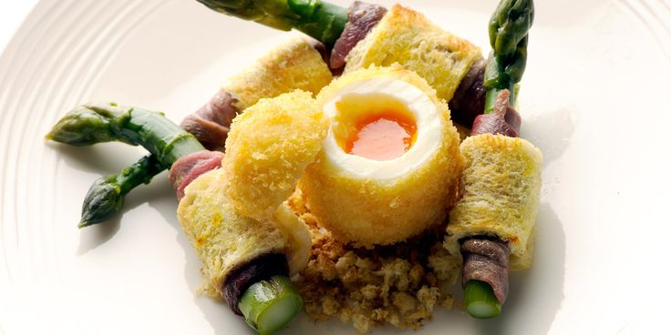Nathan Outlaw shares a divine egg and soldiers recipe, using smoked duck breast and homemade saffron bread for an unforgettable egg and sold...