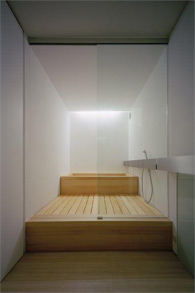 C1 House - Tokyo, Japan - 2005 - Curiosity #architecture #japanese #bathroom #house #design