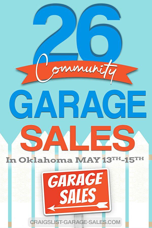 Calendar Of City Wide And Neighborhood Garage Sales In 2021 Neighborhood Garage Sale Garage Sales The Neighbourhood