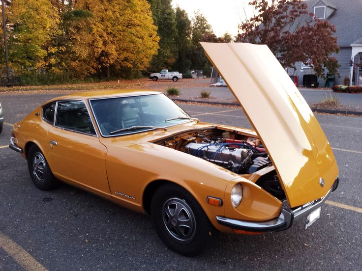 The Grand Daddy of the Nissan Z cars - the Datsun 240 Z.