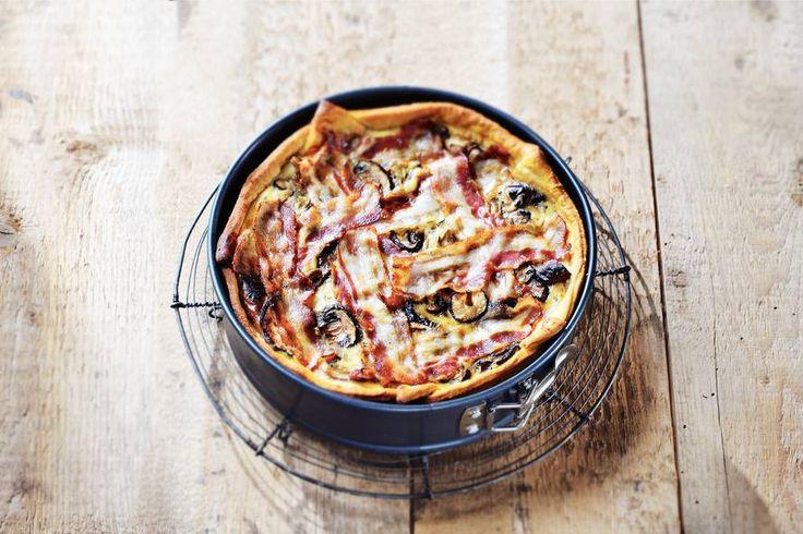Herfst uit de oven. Met ricotta, geitenkaas en rozemarijn - Recept - Allerhande