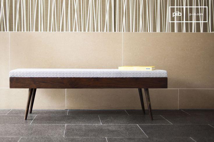 Opta per la panca Londress, semplice ed elegante andrà a creare un'atmosfera piacevole nel tuo ingresso o nella tua camera da letto.
