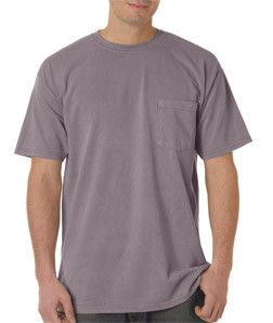 6030 Chouinard Adult Heavyweight Cotton Short-Sleeve Pocket Tee Clay Pgmdye