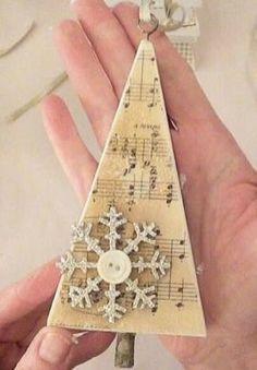 53 Inspiring DIY Hand Craft Christmas Ornament