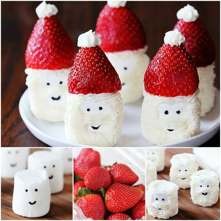 These delicious little Santa Hat Marshmallow Treats are quick and easy to make from only 3 ingredients. Get the kids to help!