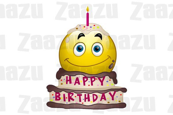 Happy Birthday Emoticon Animated