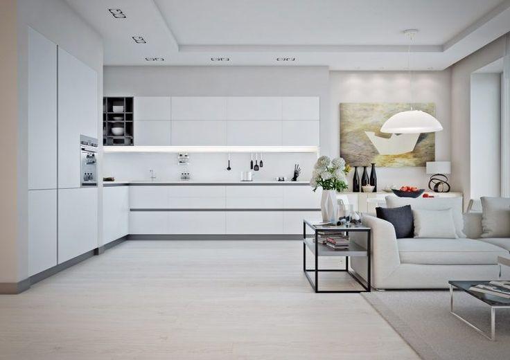 Első lakás - Két világos és egy melegebb színekkel berendezett és dekorált lakás