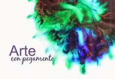 Nuestro Mundo Creativo: ARTE con pegamento