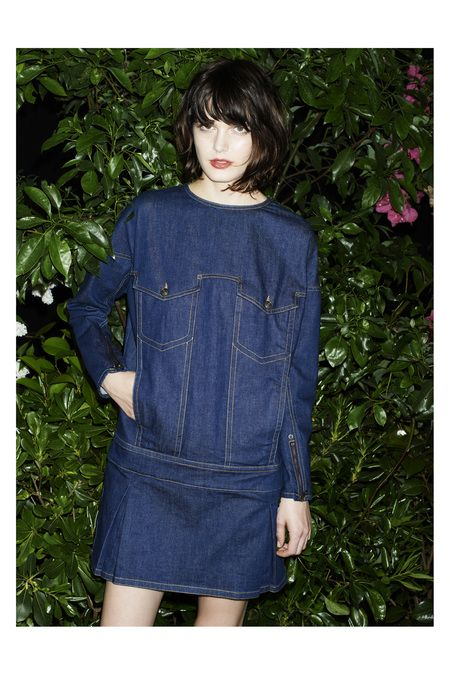 See by Chloé | Resort 2014 Collection | Style.com, denim style