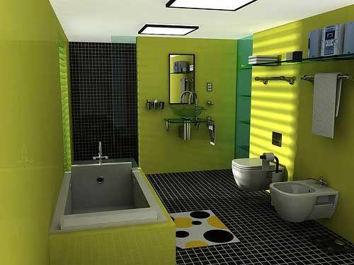 Small Bathroom Designs Green 94 best bathroom ideas images on pinterest | bathroom ideas, tiny