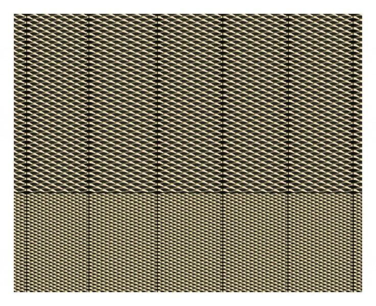 Michael Manser RA's FACADE STUDY: EXPANDED METAL MESH at the RA Summer Exhibition 2015