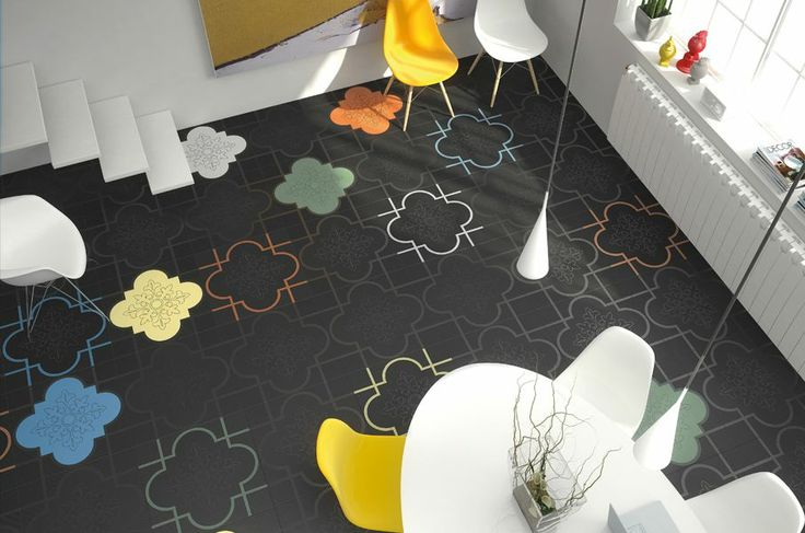 """""""When matter, shape and colour meet each card back in its place"""" and Face collection comes alive. #Ornamenta #ceramic #tiles"""