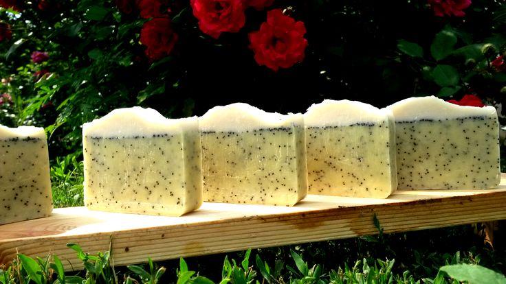 Citromfüves-mákos szappan